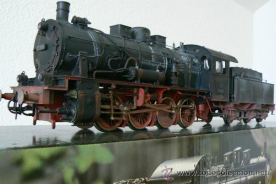 MARKLIN ESCALA 1 REF 5745 BR 55 3964 ENVEJECIDA CAJA ORIGEN NUEVA SPUR1 (Juguetes - Trenes - Varios)