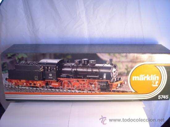 Trenes Escala: Marklin escala 1 ref 5745 BR 55 3964 Envejecida Caja origen nueva Spur1 - Foto 5 - 35987727