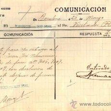 Trenes Escala: CAMINOS DE HIERRO DEL NORTE. COMUNICACIÓN. AÑO 1913. Lote 35923037