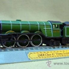 Trenes Escala: LOCOMOTORA LNER CLASS A1, FLYING SCOTSMAN, 4472, USA, ESCALA N, MAQUETA. Lote 36084807