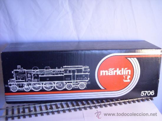 Trenes Escala: Marklin escala 1 ref 5706 locomotora vapor BR 78 335 DB Fumigeno caja origen Spur1 Nueva - Foto 27 - 36237842