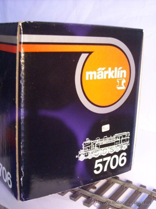 Trenes Escala: Marklin escala 1 ref 5706 locomotora vapor BR 78 335 DB Fumigeno caja origen Spur1 Nueva - Foto 26 - 36237842