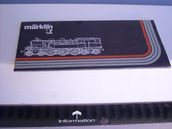 Trenes Escala: Marklin escala 1 ref 5706 locomotora vapor BR 78 335 DB Fumigeno caja origen Spur1 Nueva - Foto 2 - 36237842