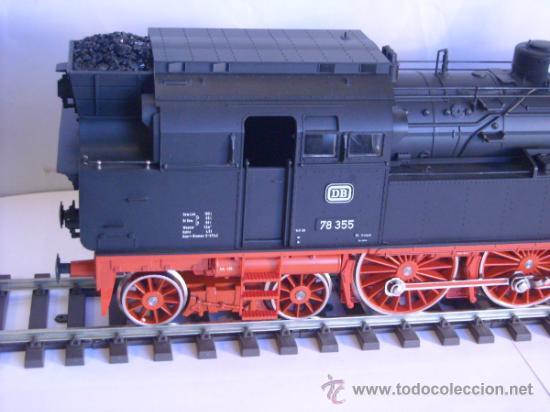 Trenes Escala: Marklin escala 1 ref 5706 locomotora vapor BR 78 335 DB Fumigeno caja origen Spur1 Nueva - Foto 6 - 36237842