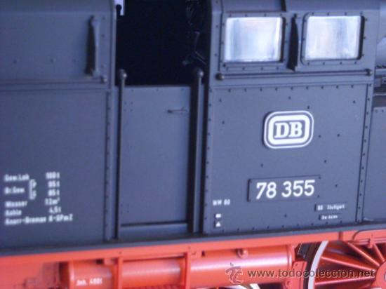 Trenes Escala: Marklin escala 1 ref 5706 locomotora vapor BR 78 335 DB Fumigeno caja origen Spur1 Nueva - Foto 7 - 36237842