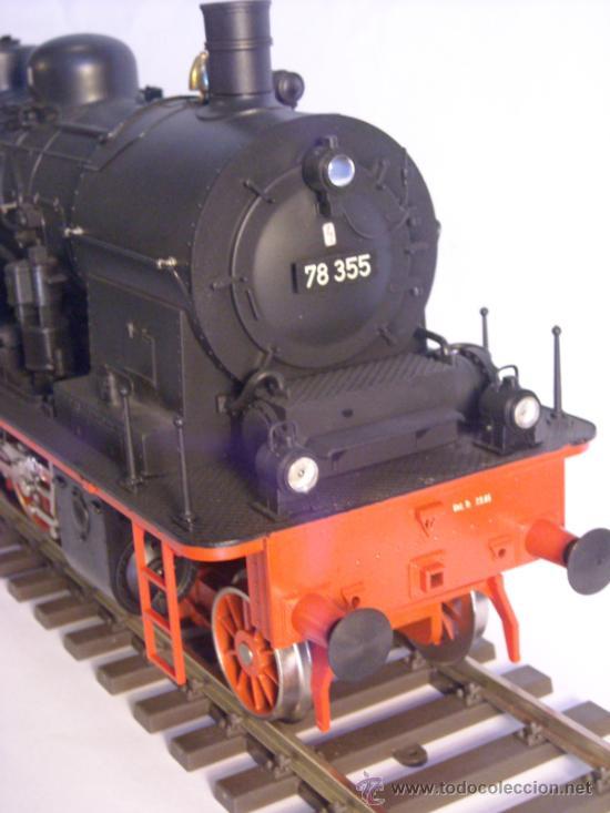 Trenes Escala: Marklin escala 1 ref 5706 locomotora vapor BR 78 335 DB Fumigeno caja origen Spur1 Nueva - Foto 10 - 36237842