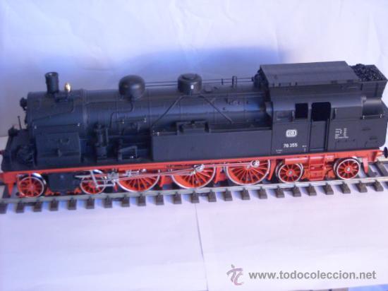 Trenes Escala: Marklin escala 1 ref 5706 locomotora vapor BR 78 335 DB Fumigeno caja origen Spur1 Nueva - Foto 14 - 36237842