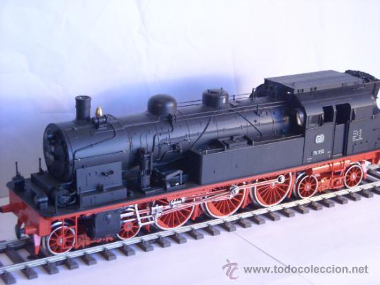Trenes Escala: Marklin escala 1 ref 5706 locomotora vapor BR 78 335 DB Fumigeno caja origen Spur1 Nueva - Foto 25 - 36237842