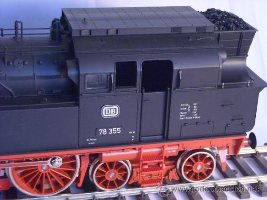 Trenes Escala: Marklin escala 1 ref 5706 locomotora vapor BR 78 335 DB Fumigeno caja origen Spur1 Nueva - Foto 18 - 36237842