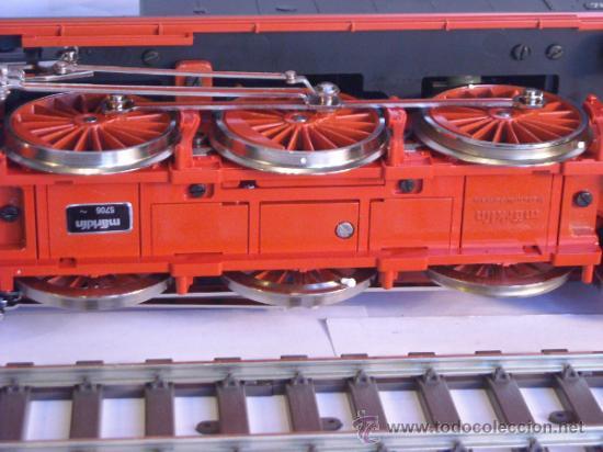 Trenes Escala: Marklin escala 1 ref 5706 locomotora vapor BR 78 335 DB Fumigeno caja origen Spur1 Nueva - Foto 23 - 36237842
