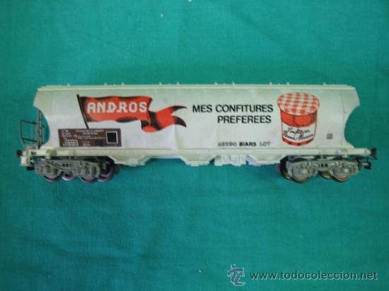Trenes Escala: Tren Vapor Express 735800 de Jovef made in France. Escala HO. Esta deformado por la temperatura - Foto 16 - 36310232
