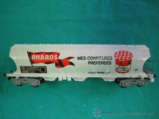 Trenes Escala: Tren Vapor Express 735800 de Jovef made in France. Escala HO. Esta deformado por la temperatura - Foto 18 - 36310232