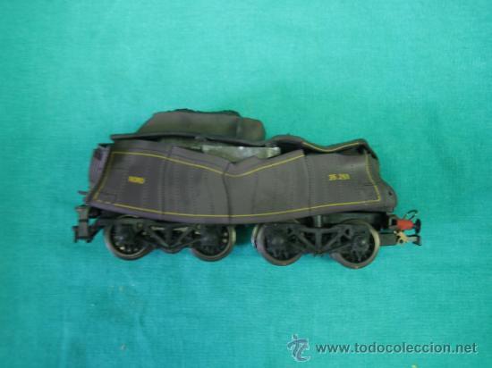 Trenes Escala: Tren Vapor Express 735800 de Jovef made in France. Escala HO. Esta deformado por la temperatura - Foto 22 - 36310232