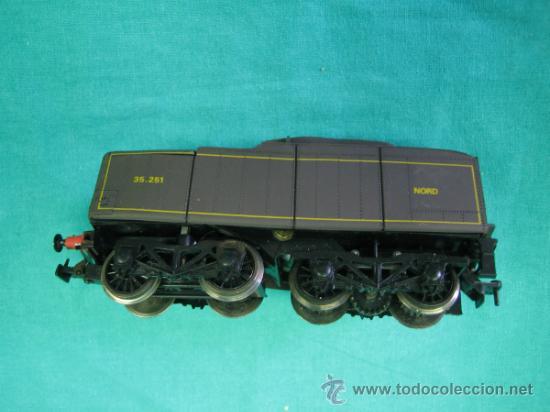 Trenes Escala: Tren Vapor Express 735800 de Jovef made in France. Escala HO. Esta deformado por la temperatura - Foto 24 - 36310232