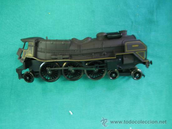 Trenes Escala: Tren Vapor Express 735800 de Jovef made in France. Escala HO. Esta deformado por la temperatura - Foto 32 - 36310232