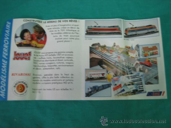 Trenes Escala: Tren Vapor Express 735800 de Jovef made in France. Escala HO. Esta deformado por la temperatura - Foto 39 - 36310232