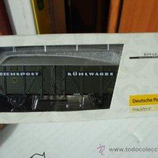 Trenes Escala: VAGÓN FRIGORÍFICO 14679 - DINGLER / DP 010213 - REICHPOST KÜHLWAGEN - ALEMANIA CORREOS TREN. Lote 36715967
