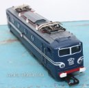 Trenes Escala: ANTIGUA LOCOMOTORA JOUEF NS 1308 - ESCALA H0 - REF 8551 - AZUL Y BLANCA - ELECTRICA CC - EN PERFECTO. Lote 36878799