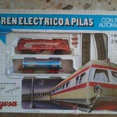 Trenes Escala: TREN ELÉCTRICO A PILAS JYESA. Lote 37285661