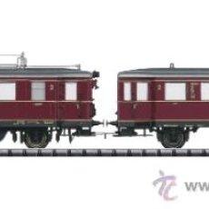 Trenes Escala: TRIX DIGITAL SOUND ESCALA H0 1/87 REF 22675 AUTOMOTOR DIESEL CON REMOLQUE SONIDO NUEVO. Lote 43893759