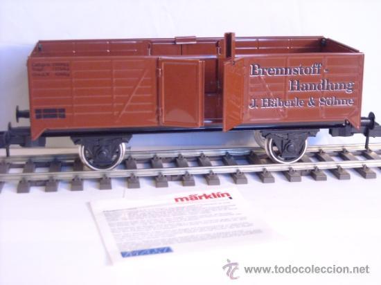 Trenes Escala: Marklin escala 1 1:32 maxi ref 5482 vagón mercancias abierto Brennstoff-Handlung spur1 100% Metal - Foto 2 - 37734292