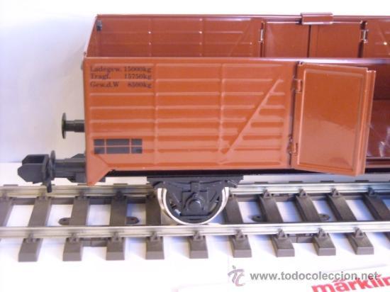 Trenes Escala: Marklin escala 1 1:32 maxi ref 5482 vagón mercancias abierto Brennstoff-Handlung spur1 100% Metal - Foto 3 - 37734292