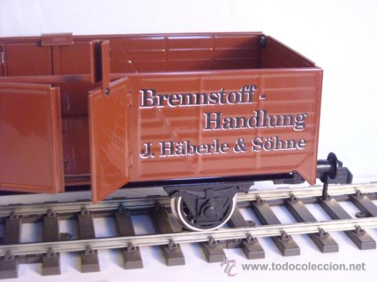 Trenes Escala: Marklin escala 1 1:32 maxi ref 5482 vagón mercancias abierto Brennstoff-Handlung spur1 100% Metal - Foto 4 - 37734292