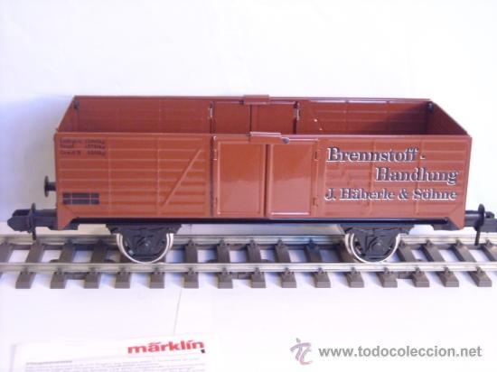 Trenes Escala: Marklin escala 1 1:32 maxi ref 5482 vagón mercancias abierto Brennstoff-Handlung spur1 100% Metal - Foto 6 - 37734292