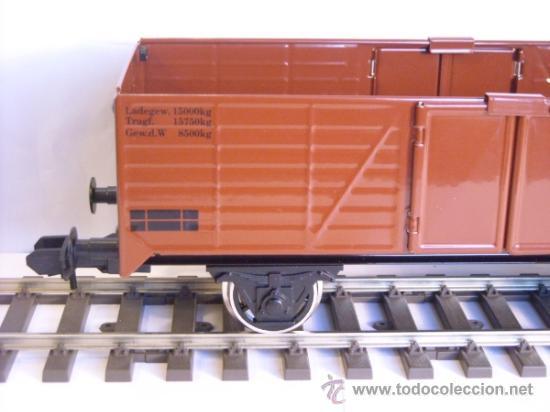 Trenes Escala: Marklin escala 1 1:32 maxi ref 5482 vagón mercancias abierto Brennstoff-Handlung spur1 100% Metal - Foto 7 - 37734292