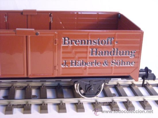 Trenes Escala: Marklin escala 1 1:32 maxi ref 5482 vagón mercancias abierto Brennstoff-Handlung spur1 100% Metal - Foto 8 - 37734292
