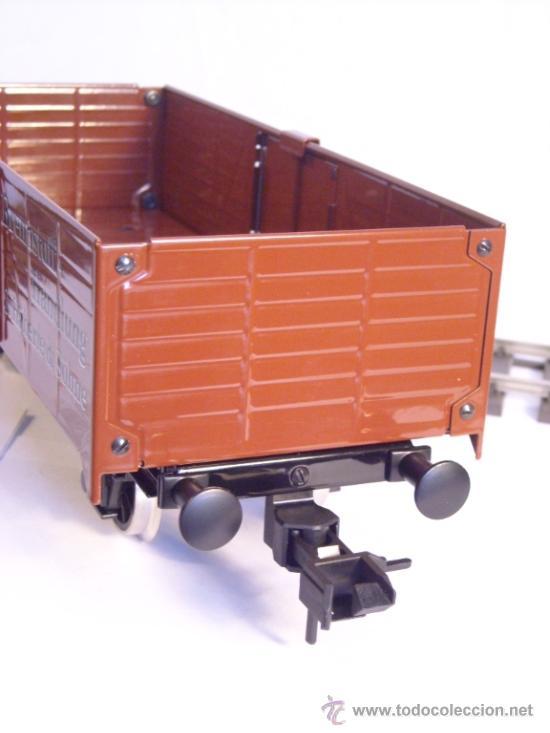 Trenes Escala: Marklin escala 1 1:32 maxi ref 5482 vagón mercancias abierto Brennstoff-Handlung spur1 100% Metal - Foto 9 - 37734292