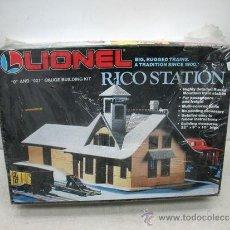 Trenes Escala: LIONEL RICOSTATION - MAQUETA PARA MONTAR - ESCALA 0 Y 027. Lote 37990468