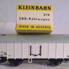 Trenes Escala: KLEINBAHN REF 319 PARA ALTERNA AC ESCALA H0 1/87 VAGON MERCANCIAS FRIGORIFICO . Lote 38039487