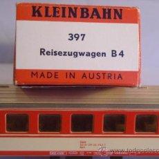 Trenes Escala: KLEINBAHN REF 397 PARA ALTERNA AC ESCALA H0 1/87 VAGON PASAJEROS 2ª CLASE ÖBB. Lote 38041584