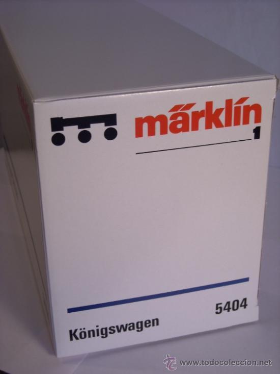 Trenes Escala: Marklin digital escala 1 1:32 set 5523 Kaiserzug locomotora G8.1 sonido ref 5508 spur1 Nuevo - Foto 19 - 38061324