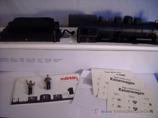 Trenes Escala: Marklin digital escala 1 1:32 set 5523 Kaiserzug locomotora G8.1 sonido ref 5508 spur1 Nuevo - Foto 5 - 38061324
