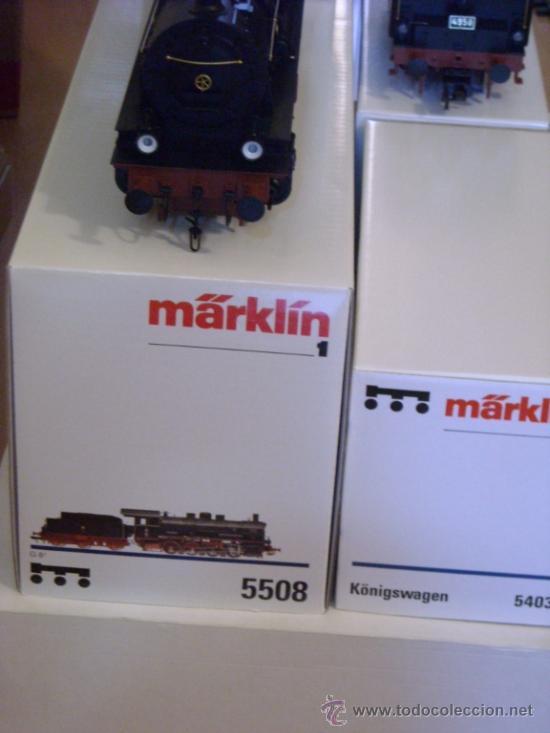 Trenes Escala: Marklin digital escala 1 1:32 set 5523 Kaiserzug locomotora G8.1 sonido ref 5508 spur1 Nuevo - Foto 4 - 38061324