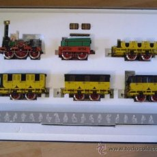 Trenes Escala: MARKLIN ESCALA 1 1:32 SET COMPLETO DEL ADLER 1835 4 VAGONES FIGURAS SERIE LIMITADA NUEVO SPUR1. Lote 38337242