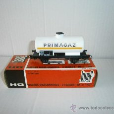 Trenes Escala: VAGON CISTERNA PRIMAGAZ DE JOUEF, HO, REF.639. Lote 38136959