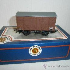 Trenes Escala: 12 TON VENTILATED VAN, B.R. BROWN , DE BACHMANN, SCALE 00. REF. 33-600.. Lote 38138144