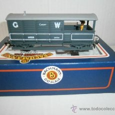 Trenes Escala: 20 TON TOAD BRAKE VAN G.W.R. GREY CARDIFF, DE BACHMANN, SCALE 00. REF. 33-301.. Lote 38138760