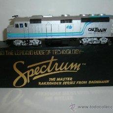 Trenes Escala: LOCOMOTORA DIESEL AMERICANA, F40PH, CALTRANS, HO, DE BACHMANN SPECTRUM, REF. 87008. Lote 38349502