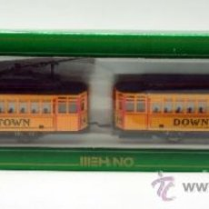 Trenes Escala: BRILL TROLLEY DOWNTOWN HOBBY TRAIN LINE MEHANO H0 AÑOS 80. Lote 38415468