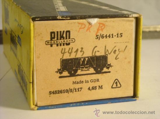 Trenes Escala: piko escala H0 1:87 vagon mercancias cerrado 44332 Bulgaria - Foto 3 - 194548557