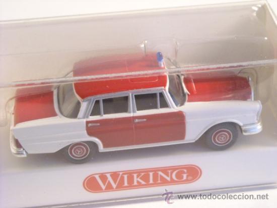 Trenes Escala: Wiking escala H0 1:87 ref 861 05 31 maqueta coche Mercedes Benz 220 S Nuevo - Foto 3 - 172070127