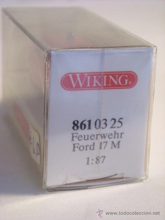 Trenes Escala: Wiking escala H0 1:87 ref 861 03 25 maqueta coche Ford 17 M Nuevo - Foto 2 - 38974282