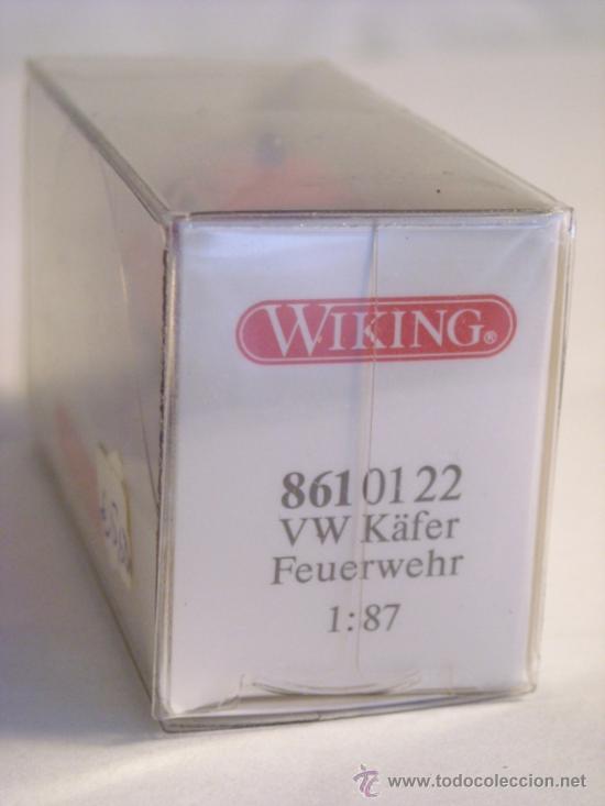 Trenes Escala: Wiking escala H0 1:87 ref 861 01 22 maqueta coche Volkswagen Nuevo - Foto 2 - 38974264