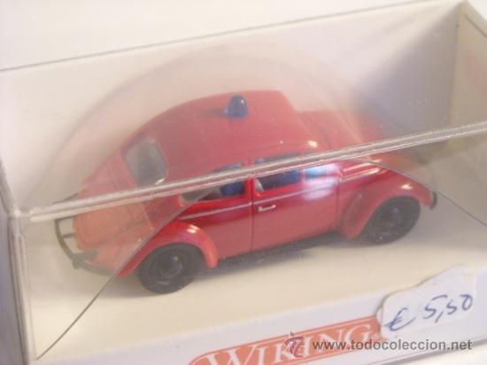 Trenes Escala: Wiking escala H0 1:87 ref 861 01 22 maqueta coche Volkswagen Nuevo - Foto 3 - 38974264