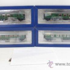 Trenes Escala: BACHMANN REF 31426 COMPOSICIÓN 4 COCHES CLASS 411 EMU SET CON INTERFACE DIGITAL DCC 21 PIN NUEVO. Lote 39318609