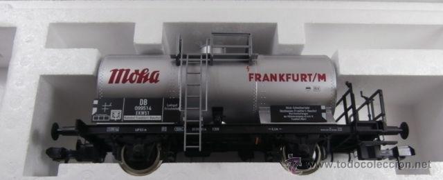 Trenes Escala: Marklin escala 1 1:32 ref 59861 vagon cisterna Moha Frankfurt de la DB spur1 Nuevo - Foto 11 - 39491382